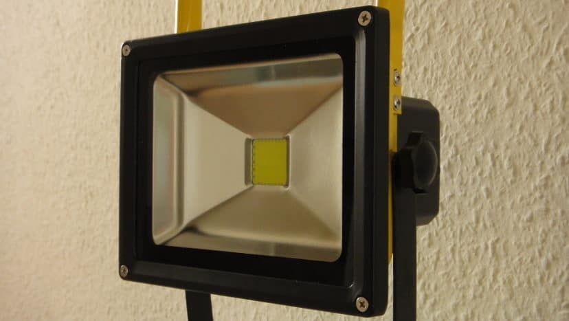 Floodlight with LED Replacement