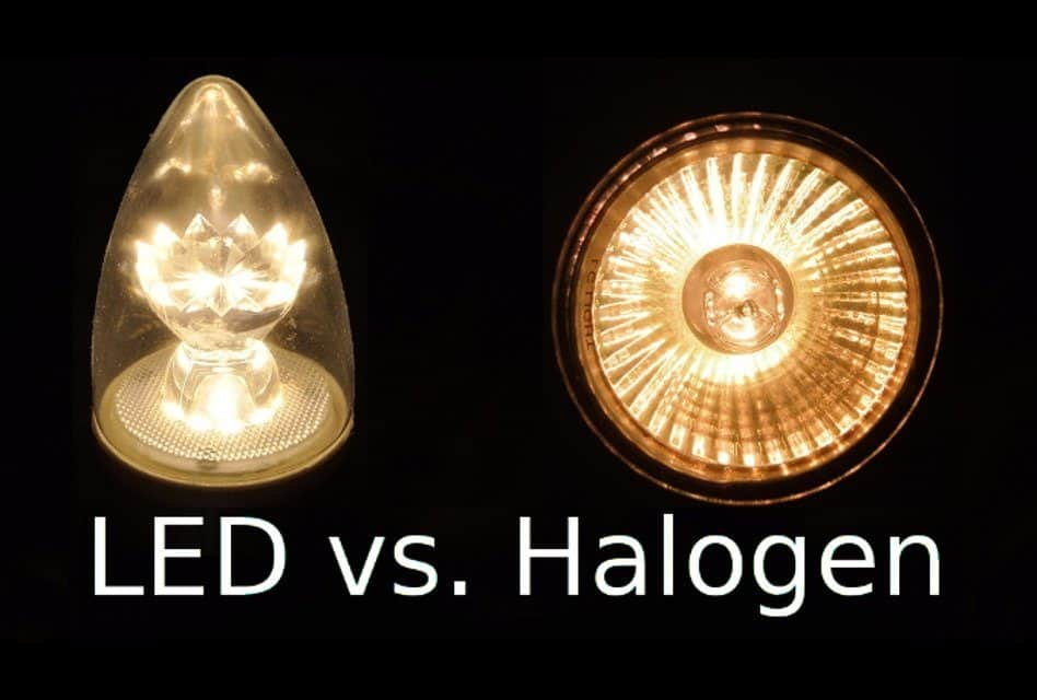 Halogen Light Vs Led >> Led Vs Halogen Bulbs What S The Difference Which Is