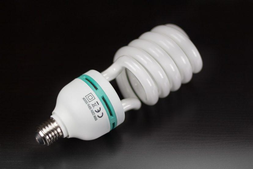 Old energy-saving lamp